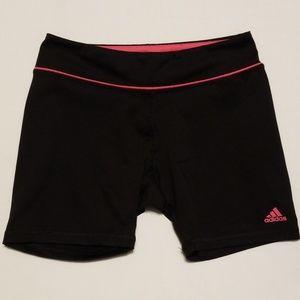 Black Adidas compression shorts